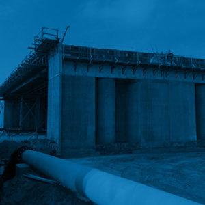 bridge construction survey control