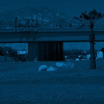 new landscape design indio highway interchange